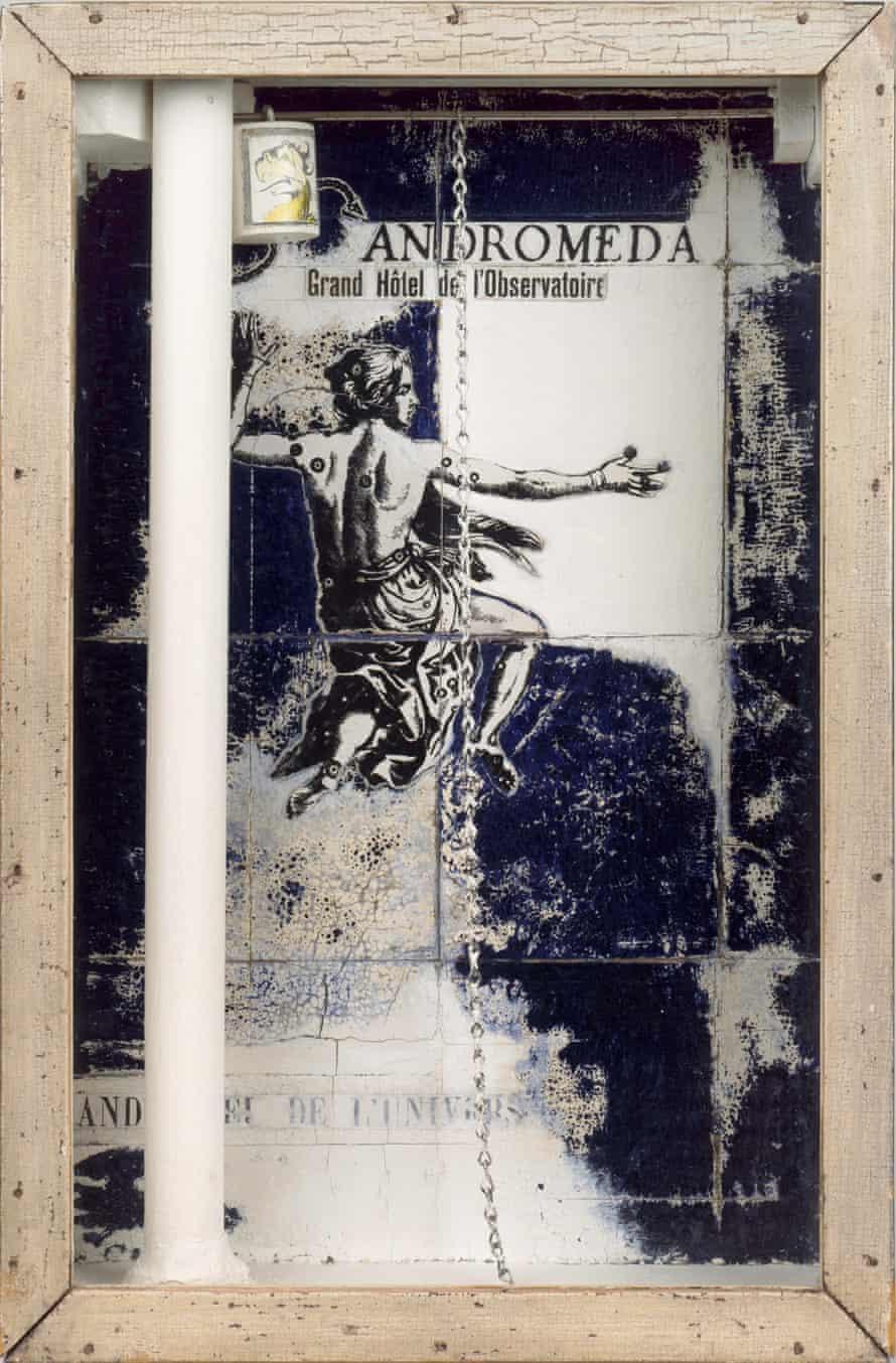 <em>Andromeda: Grand Hôtel de l'Observatoir</em>e, 1954, by Joseph Cornell. Courtesy of David Heald/The Joseph and Robert Cornell Memorial Foundation/Vaga, NY/Dacs.