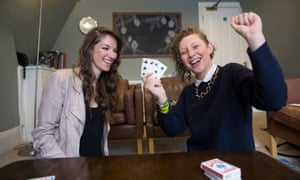 Magician Katherine Mills teaches Hannah Ellis-Petersen some new tricks