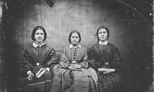 Is this a photo of the Brontë sisters?