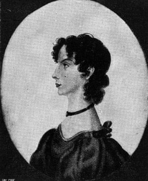 Charlotte Bronte's portrait of her youngest sister, Anne.