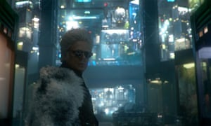 Benicio Del Toro as The Collector in Guardians of the Galaxy.