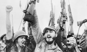 Fidel Castro, Cuban revolutionary leader.
