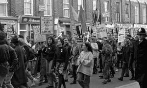 An NUS demonstration in 1989