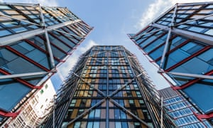 'Non-dom accom' … Neo Bankside, by Rogers Stirk Harbour + Partners, has been slammed as a symbol of London's divided communities.
