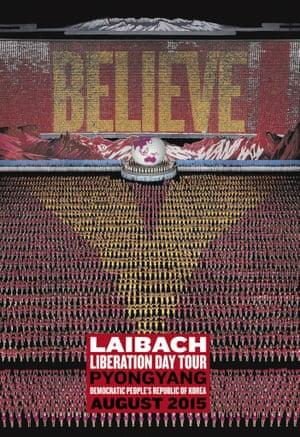 Laibach's Pyongyang concert poster.