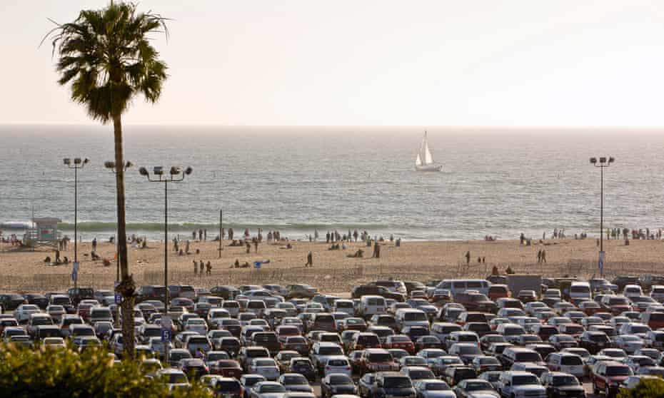Santa Monica has remained a city where each person is stuck in a car.