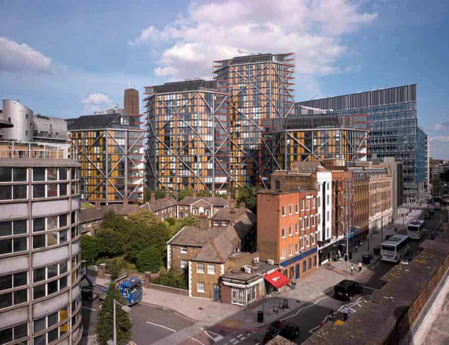 NEO Bankside, London, United Kingdom. Architect: Rogers Stirk Harbour + Partners, 2013.
