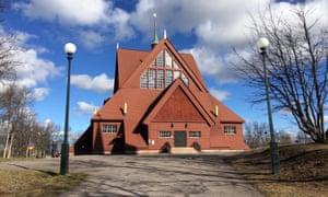 Kiruna's church.
