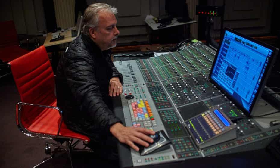 Skip Lievsay in his sound studio in Manhattan.