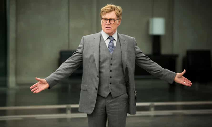 Robert Redford in Captain America: The Winter Soldier.