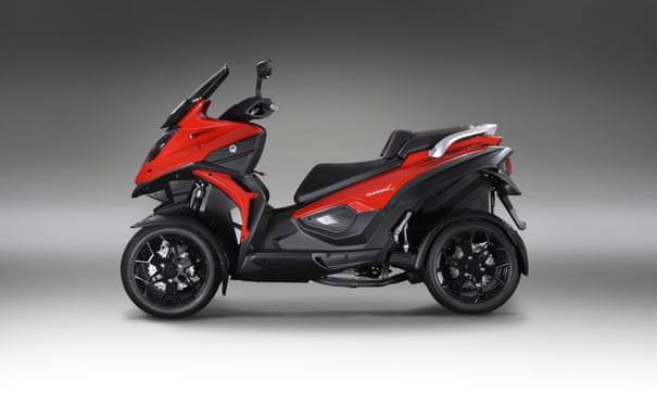 Quadro 4: scooter review | Martin Love | Technology | The