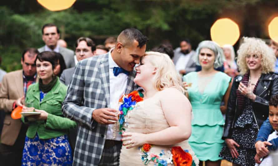 Lindy West's wedding
