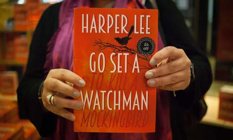 A copy of Go Set a Watchman.