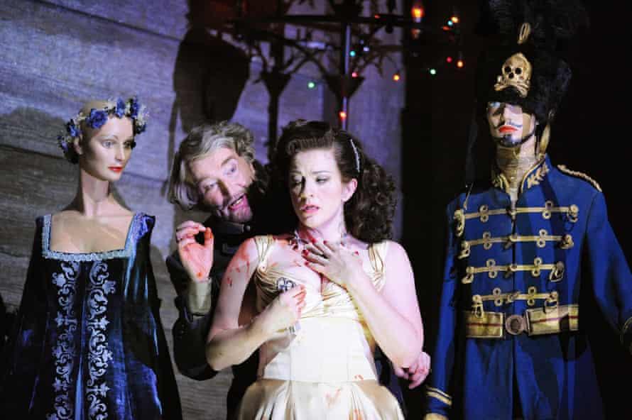 Judith in Duke Bluebeard's castle in <em>Duke Bluebeard's Castle </em>/<em> The Rite of Spring</em> at the London Coliseum, 2009.