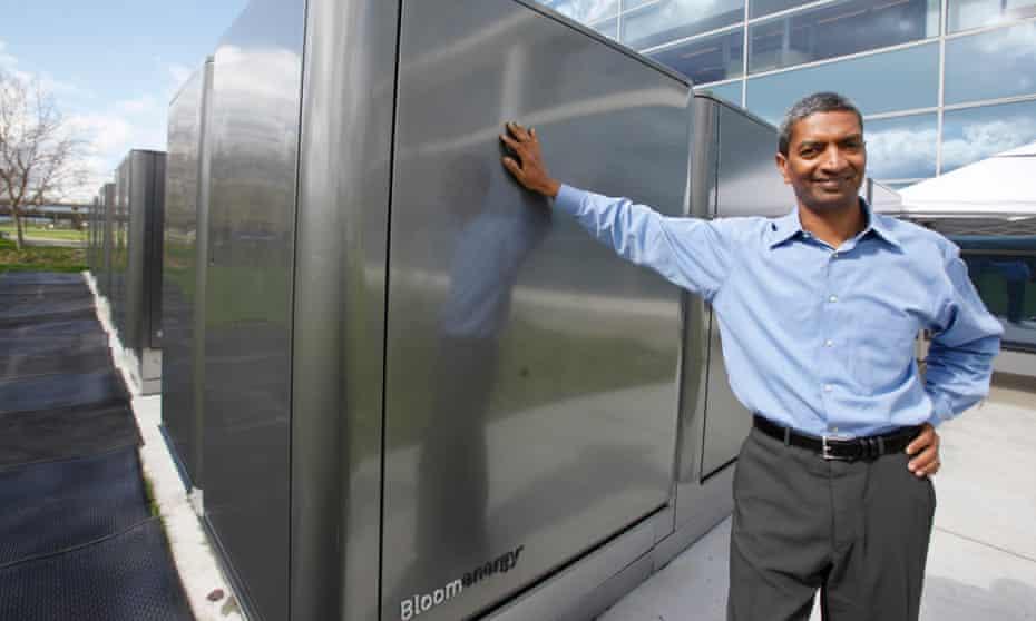 KR Sridhar CEO Bloom Energy fuel cell eBay