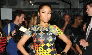 Nicki Minaj: on the war path.