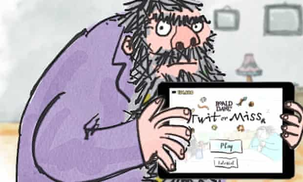 The Twits app features two of Roald Dahl's meanest characters.