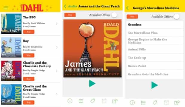 The Twits game will promote Penguin's existing Roald Dahl audiobooks app.