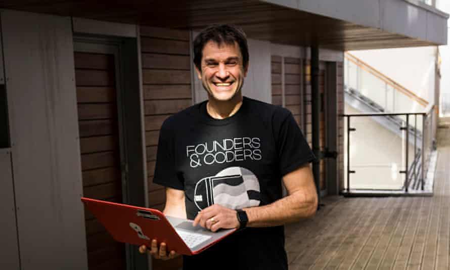 Dan Sofer of Founders & Coders in east London