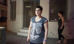 'I thought I'd have ajob and a partner. The crisis stopped both': Melina Panagiotidou.