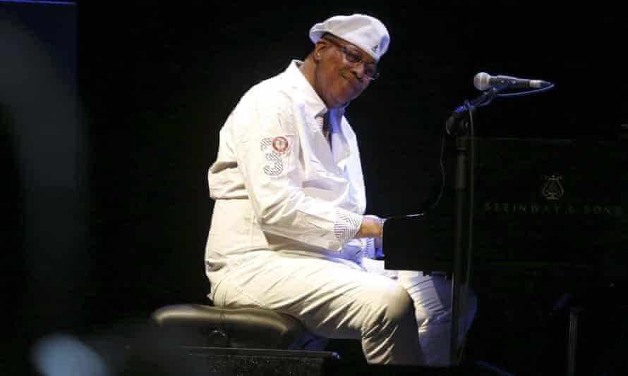 Cuban pianist Chucho Valdes
