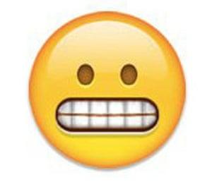 Grimace emoji