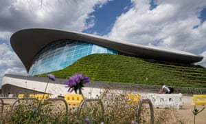 The aquatics centre's soaring construction costs caused much disquiet when it was being built.