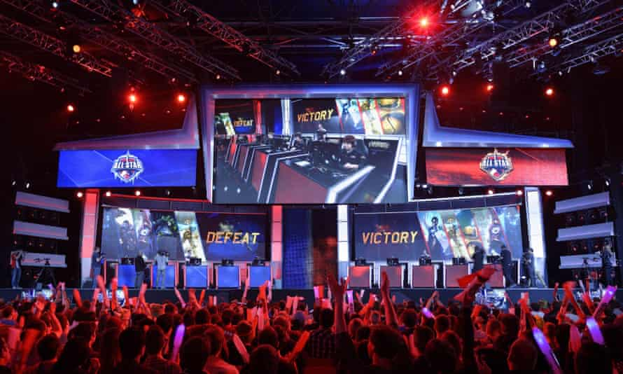 Major eSports events like the League of Legends world championships are attracting huge numbers of online spectators – how long before they end up behind a paywall?