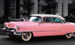 The King's Pink Caddie.