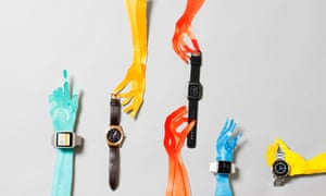 A range of smart watches