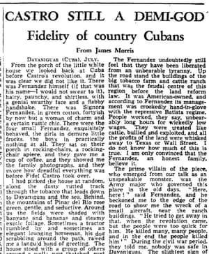 The Guardian, 23 July 1960