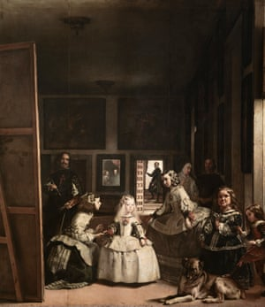 Las Meninas by Velazquez, the full painting.