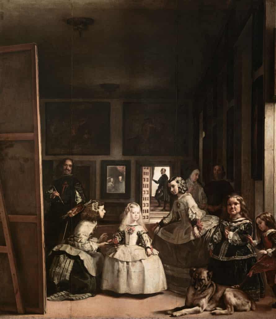 Las Meninas by Velazquez, the full painting.