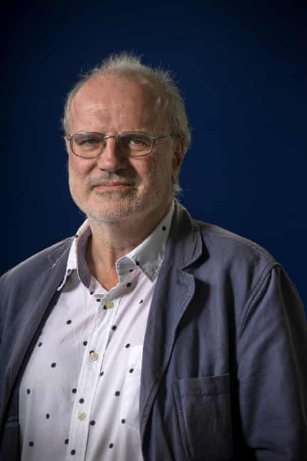 Michael Jacobs, at the Edinburgh International Book Festivalin 2013.