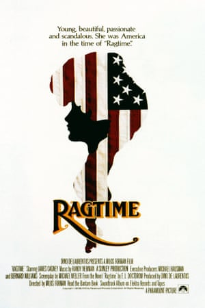 A poster for the film Ragtime, 1981, based on EL Doctorow's 1975 book.