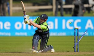 Ireland v Hong Kong - World Twenty20 qualifier