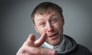 """Great Scot: Brian """"Limmy"""" Limond in Funny Valentine."""