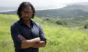David Olusoga on the Barbados sugar plantations in Britain's Forgotten Slave Owners. Photograph: Ben