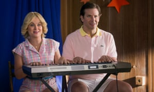 Happy campers: Amy Poehler and Bradley Cooper in Wet Hot American Summer.