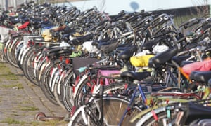 The average number of bikes per household in Groningen is 3.1.
