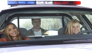 Asleep at the wheel: Vergara and Witherspoon in the disappointing Hot Pursuit.