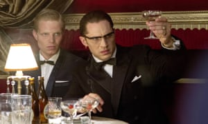 The toast of London … Tom Hardy as Ronnie Kray