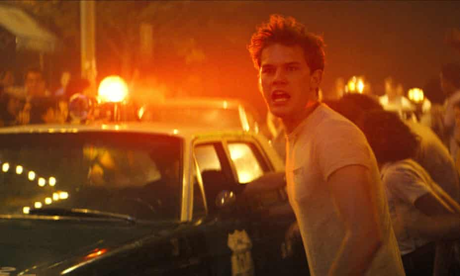 Jeremy Irvine as Danny in Roland Emmerich's Stonewall.