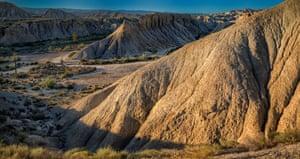 The stunning Tabernas desert, Almeria.
