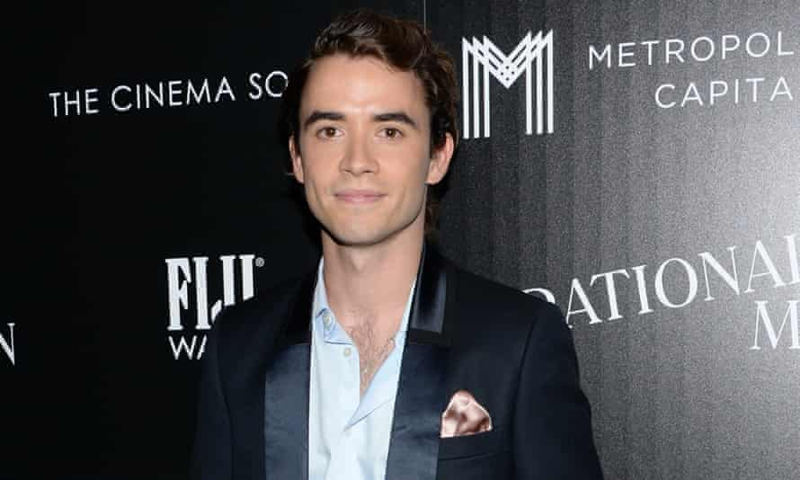 Jamie Blackley at a New York screening of Irrational Man: Ian Curtis tattoo not pictured.