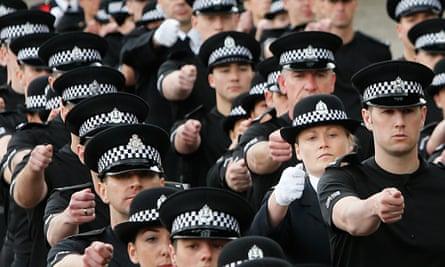 Police Scotland passing out parade