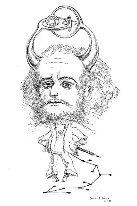 A cartoon of Conway.