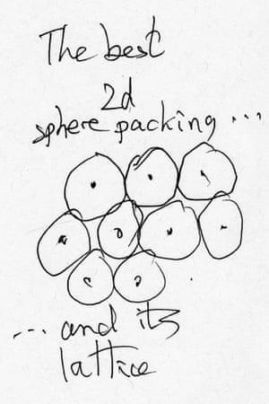 Leech lattice doodle
