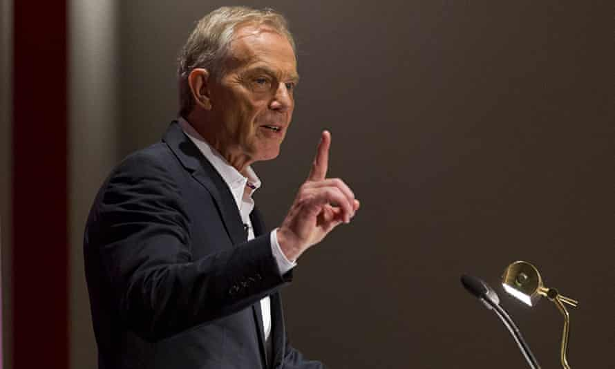Clauses that could mean something, or anything … Tony Blair. Photograph: Justin Tallis/AFP/Getty Ima