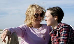 Julianne Moore and Ellen Page in Freeheld.